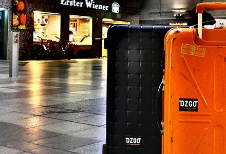 ドイツ旅行のスーツケース